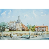 Bosham Church Signed Limited Edition Giclee Print