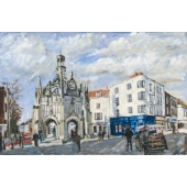 Chichester Cross Signed Limited Edition Giclee Print