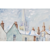 Chichester Roof Tops Signed Limited Edition Giclee Print