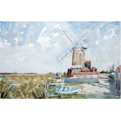 Cley Windmill, Norfolk Signed Limited Edition Giclee Print