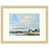 Dell Quay, Near Chichester Signed Limited Edition Framed Giclee Print