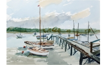 Woodbridge, Suffolk Watercolour  SOLD