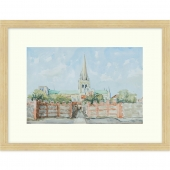 Chichester Cathedral Signed Limited Edition Framed Giclee Print