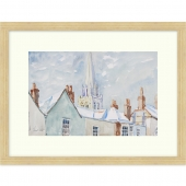 Chichester Roof Tops Signed Limited Edition Framed Giclee Print