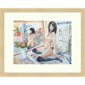 The Red Garter Signed Limited Edition Framed Giclee Print