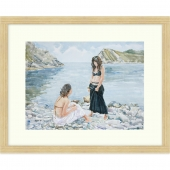 Lulworth Cove, Dorset Signed Limited Edition Framed Print