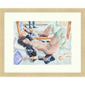 The Onlooker Signed Limited Edition Framed Giclee Print